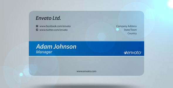 VideoHive Business Card 2684213