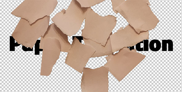 VideoHive Paper Transition 6 2700315