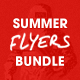 Summer Flyer Bundle - Volume One - GraphicRiver Item for Sale