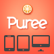 Puree Responsive App Landing Page - ThemeForest Item for Sale