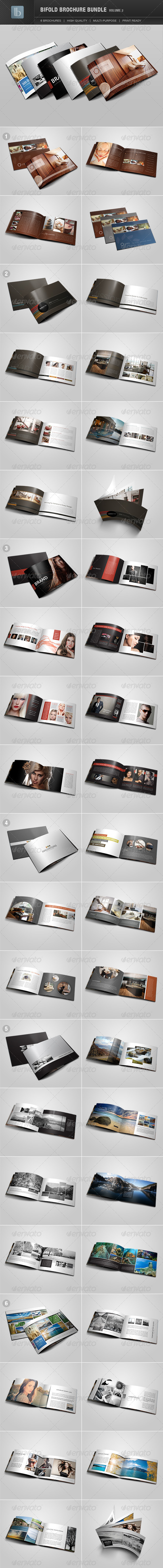 GraphicRiver Bifold Brochure Bundle Volume 2 2703068