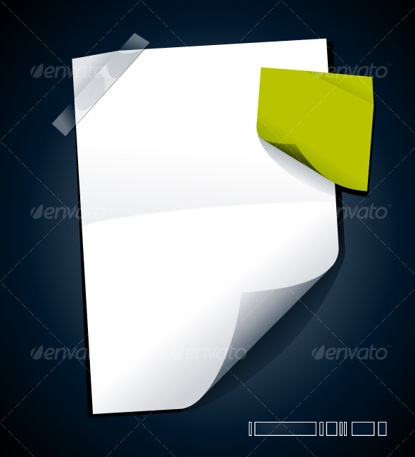 GraphicRiver Just blank paper 97937