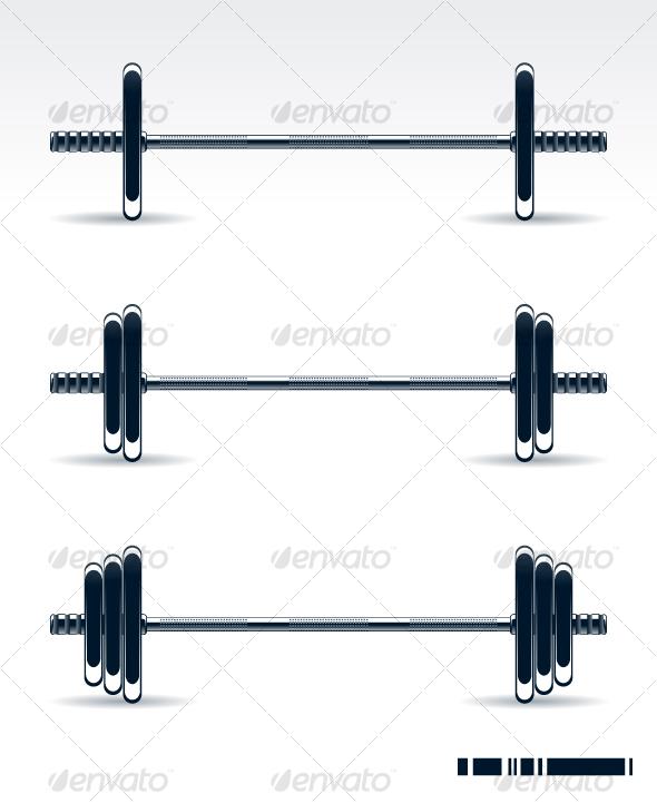 GraphicRiver Bodybuilding equipment 97941