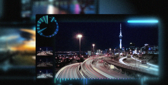 After Effects Project - VideoHive Spectrum Panels 97963