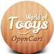 World Of Tooys Responsive OpenCart Theme - ThemeForest Item for Sale