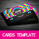 Colorful Personal Cards - GraphicRiver Item for Sale