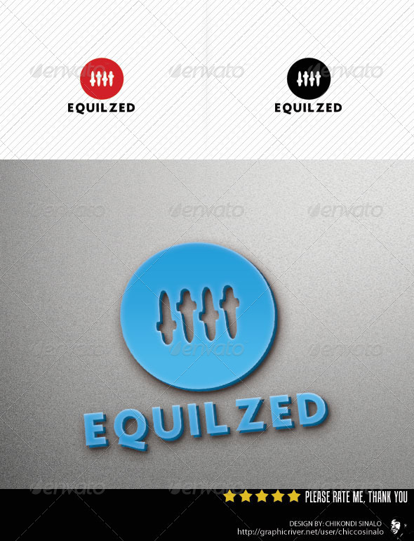 GraphicRiver Equilized Logo Template 2710931