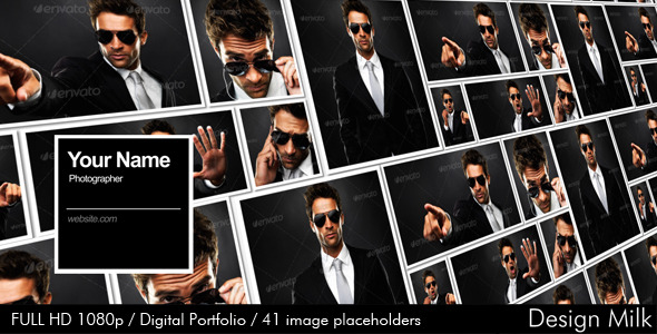 After Effects Project - VideoHive Digital Portfolio 2712002
