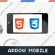 Arrow Mobile Retina | HTML5 & CSS3 And iWebApp - ThemeForest Item for Sale