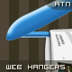 Web hangers. PS ACTION. - GraphicRiver Item for Sale