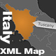 Italy XML Map - ActiveDen Item for Sale
