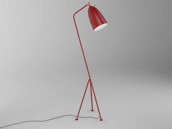 3d models grasshopper floor lamp greta grossman 3docean. Black Bedroom Furniture Sets. Home Design Ideas