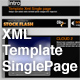 XML TEMPLATE SINGLE PAGE - ActiveDen Item for Sale