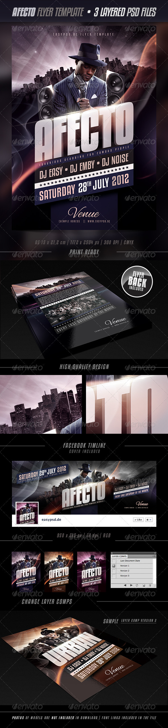 GraphicRiver Afecto Flyer Template 2737369