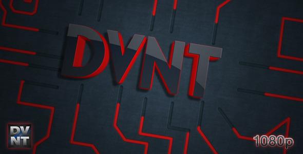 VideoHive Red ProtoX Logo Stinger 2737816