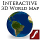 Interactive 3D World Map - ActiveDen Item for Sale