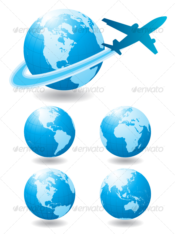 GraphicRiver Airplane travel 98874
