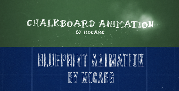 VideoHive Chalkboard and Blueprint Presentation 2742665
