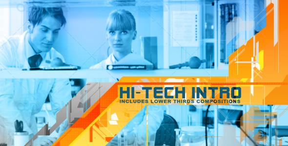 After Effects Project - VideoHive Hi-tech Intro 2742985
