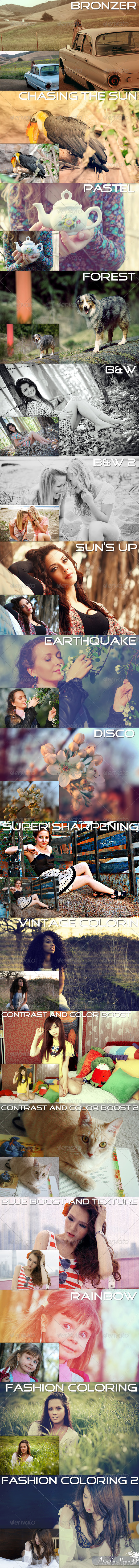 GraphicRiver Enchanting Big Pack PS effects 2743319