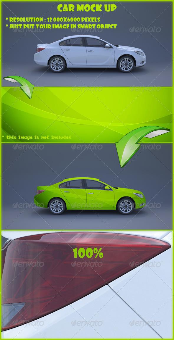 GraphicRiver Car Mock Up 2744595