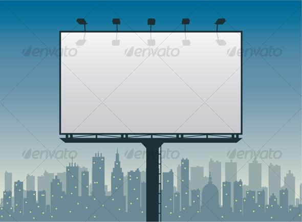 GraphicRiver City Billboard 99045