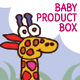 Baby Product Box; Children's Illustrations - GraphicRiver Item for Sale