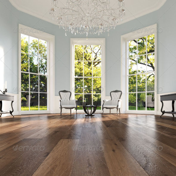 3DOcean 20 Wood Floor Planks Truffle 2705838