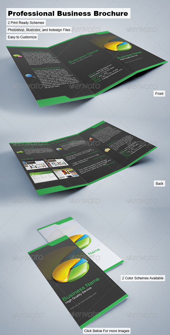 GraphicRiver Professional Business Brochure 43177