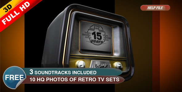 After Effects Project - VideoHive Retro TV Sets intro 300783