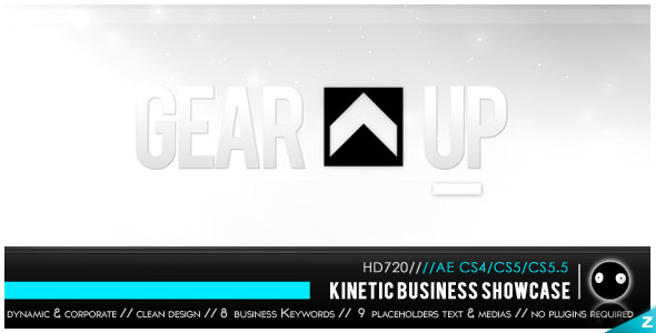 After Effects Project - VideoHive Kinetic Business Showcase 2731066