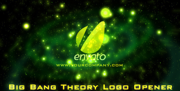 VideoHive Scifi Big Bang Theory Cinematic Logo Opener 2758868