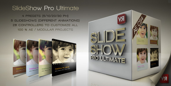 After Effects Project - VideoHive Slideshow Pro Ultimate 2759856