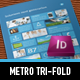 Metro Tri-fold Flyer - GraphicRiver Item for Sale