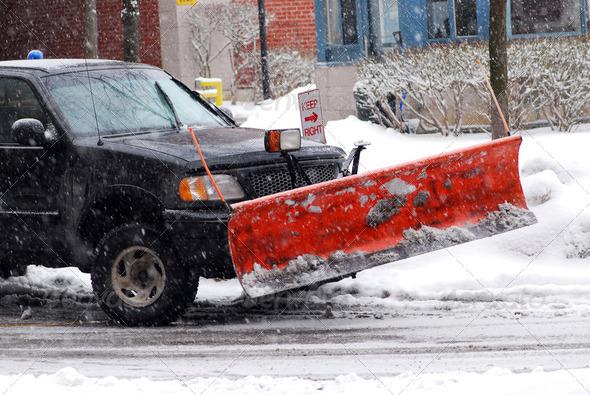 PhotoDune Snow Plow 197138