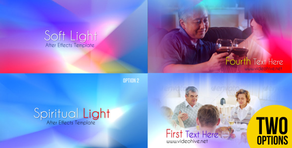VideoHive Soft Light and Spiritual Light 2765575