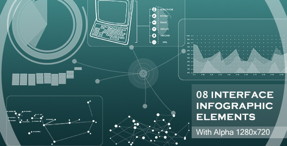 VideoHive Interface Infographic Elements 2766733