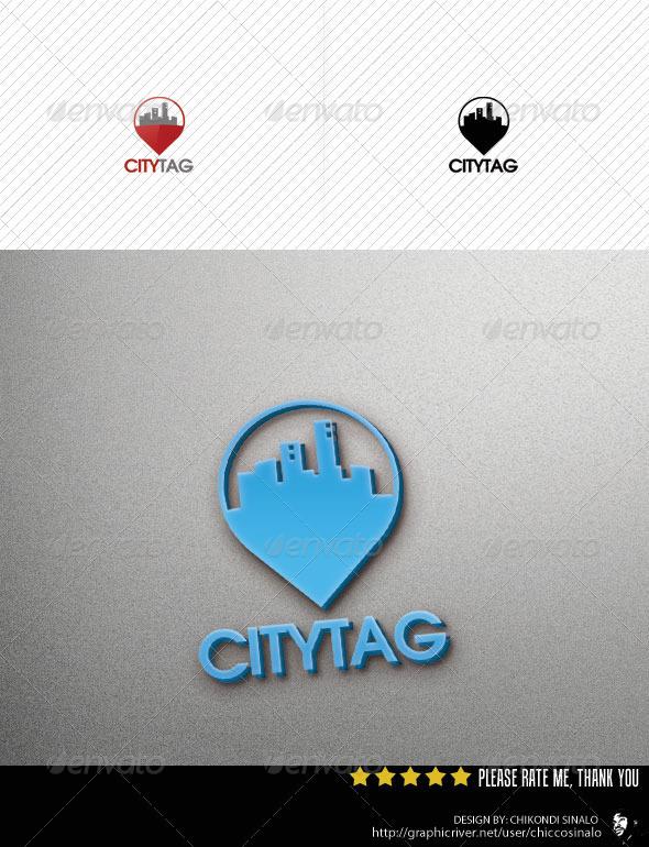 GraphicRiver City Tag Logo Template v2 2767910