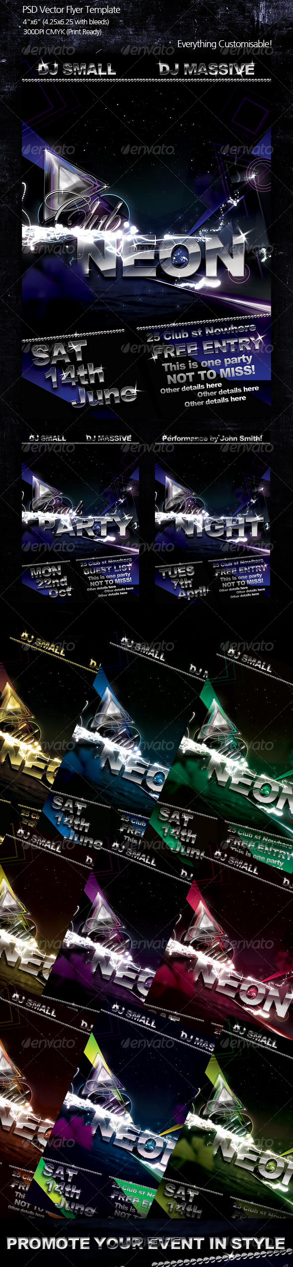 GraphicRiver Glamour Flyer Template 99827