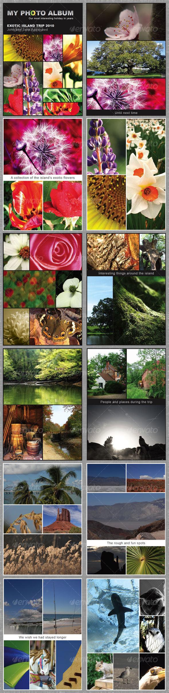GraphicRiver Elegant Photo Album 12 pages 99879