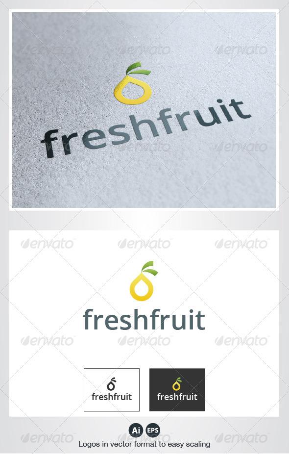 GraphicRiver Fresh Fruit Logo 2771892