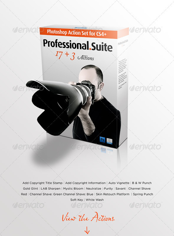 GraphicRiver Professional Photography Action Set 2750622
