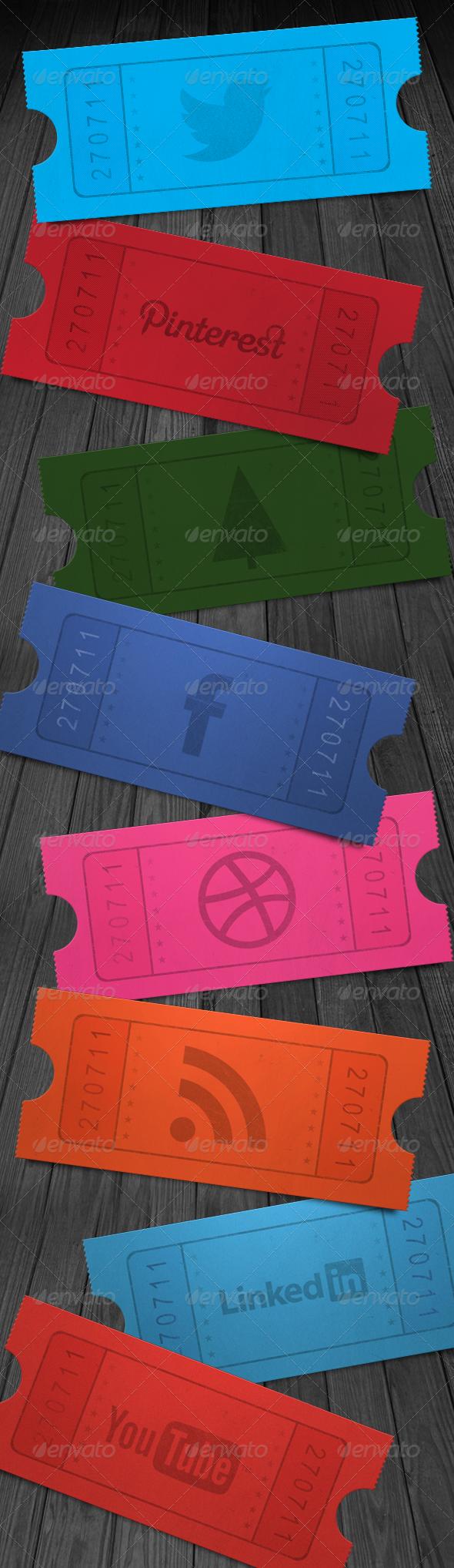 GraphicRiver Social Media Ticket Stub 2208238