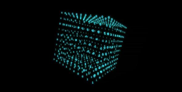 Matrix 3d Cube 3 Fondo De Pantalla Animado Hd Para: Motion Graphics - Matrix Cube - Intro - HD