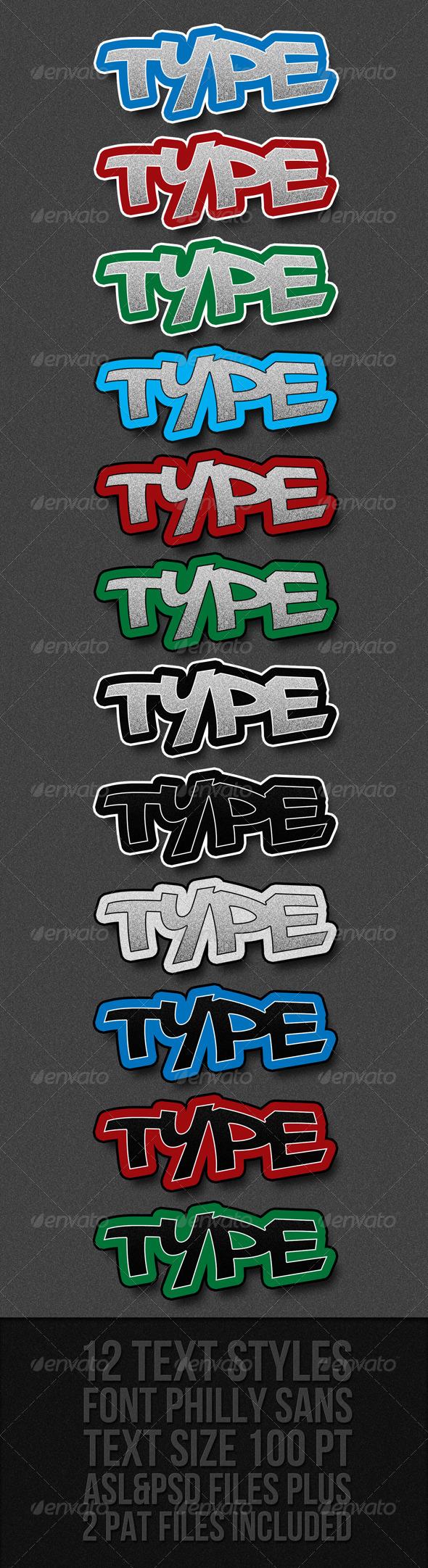 GraphicRiver Graffiti Text Styles 301630