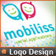 Bliss Mobile App Development Social Phone Logo V.2 - GraphicRiver Item for Sale
