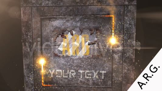 After Effects Project - VideoHive Steel box 100420