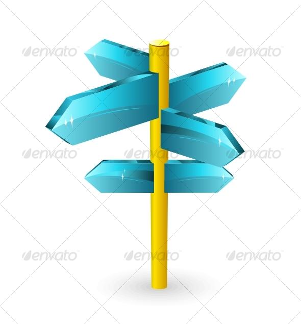 GraphicRiver Arrow road sigs 100455