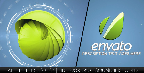 VideoHive Hi-Tech Logo Reveal 2789964
