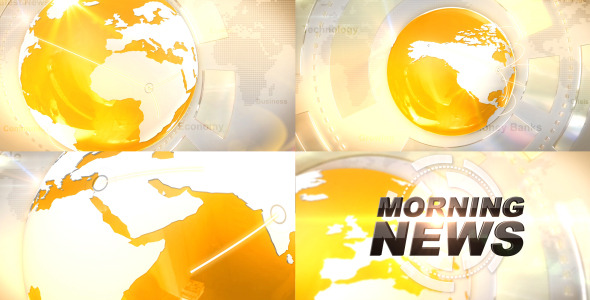 After Effects Project - VideoHive Broadcast News Idents 2788550